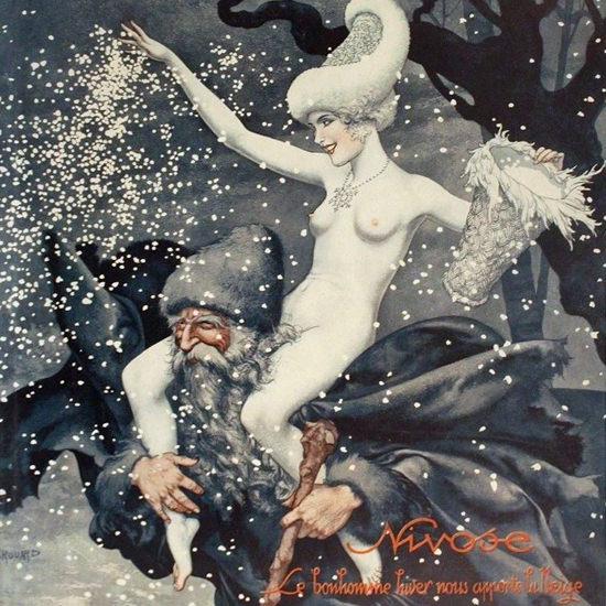 La Vie Parisienne 1932 Nivose Cheri Herouard crop | Best of Vintage Cover Art 1900-1970