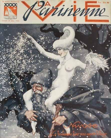 La Vie Parisienne 1932 Nivose Sex Appeal | Sex Appeal Vintage Ads and Covers 1891-1970