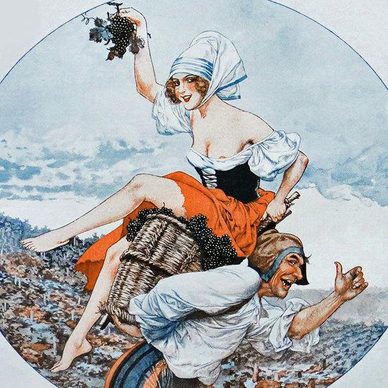 La Vie Parisienne 1932 Vendemiaire Cheri Herouard crop   Best of Vintage Cover Art 1900-1970