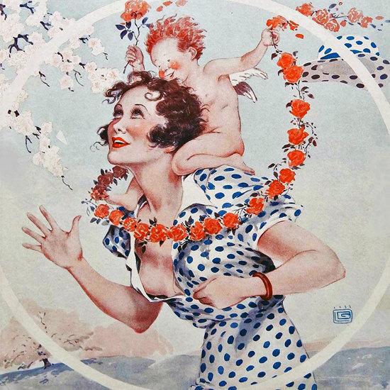 La Vie Parisienne 1933 D Tit Voyou Georges Leonnec crop | Best of Vintage Cover Art 1900-1970
