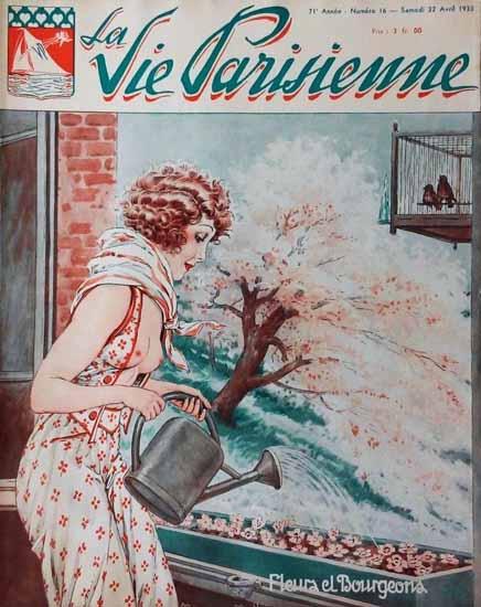 La Vie Parisienne 1933 Fleura Et Bourgeons Sex Appeal   Sex Appeal Vintage Ads and Covers 1891-1970