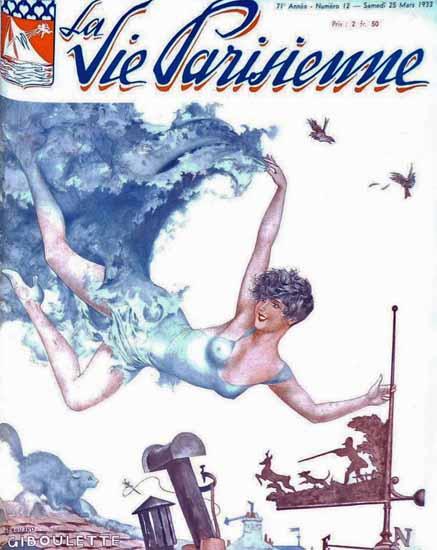 La Vie Parisienne 1933 Giboulette Sex Appeal | Sex Appeal Vintage Ads and Covers 1891-1970