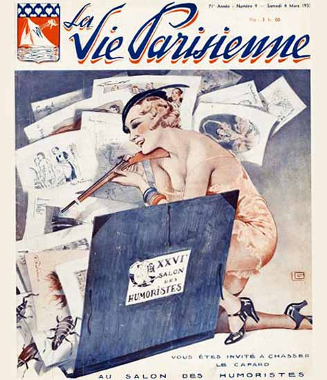 La Vie Parisienne 1933 Humoristes Georges Leonnec Sex Appeal | Sex Appeal Vintage Ads and Covers 1891-1970