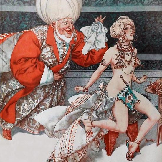 La Vie Parisienne 1933 Juin 3 Cheri Herouard crop | Best of Vintage Cover Art 1900-1970
