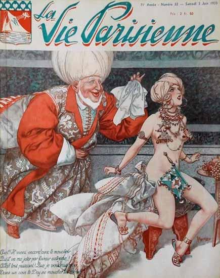 La Vie Parisienne 1933 Juin 3 Sex Appeal   Sex Appeal Vintage Ads and Covers 1891-1970