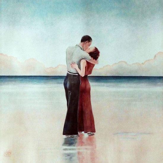 La Vie Parisienne 1933 L Heure Exquise Georges Leonnec crop | Best of 1930s Ad and Cover Art