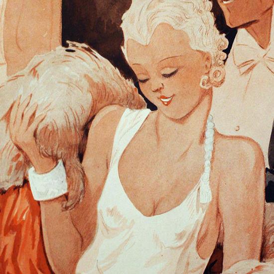 La Vie Parisienne 1933 Le Reste Henry Fournier crop B | Best of 1930s Ad and Cover Art