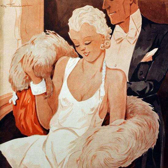 La Vie Parisienne 1933 Le Reste Henry Fournier crop | Best of Vintage Cover Art 1900-1970