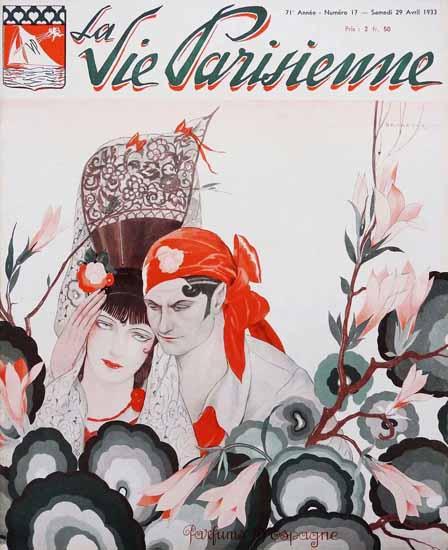 La Vie Parisienne 1933 Parfums Espagne Sex Appeal | Sex Appeal Vintage Ads and Covers 1891-1970