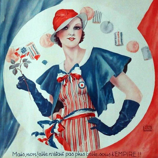 La Vie Parisienne 1933 Sous L Empire Georges Leonnec crop | Best of 1930s Ad and Cover Art