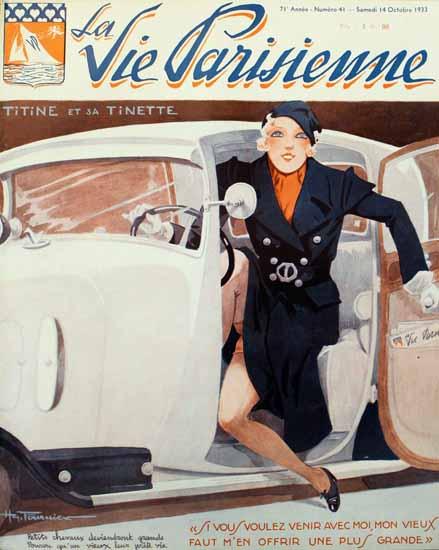 La Vie Parisienne 1933 Titine Et Sa Tinette Henry Fournier   La Vie Parisienne Erotic Magazine Covers 1910-1939