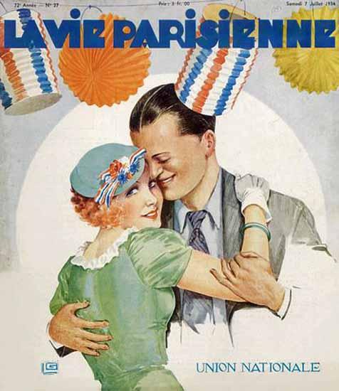 La Vie Parisienne 1934 Union Nationale Sex Appeal   Sex Appeal Vintage Ads and Covers 1891-1970