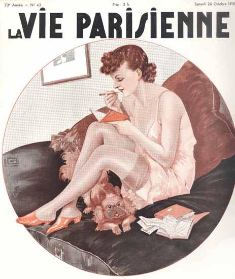 La Vie Parisienne 1935 Comptes Georges Leonnec Sex Appeal | Sex Appeal Vintage Ads and Covers 1891-1970