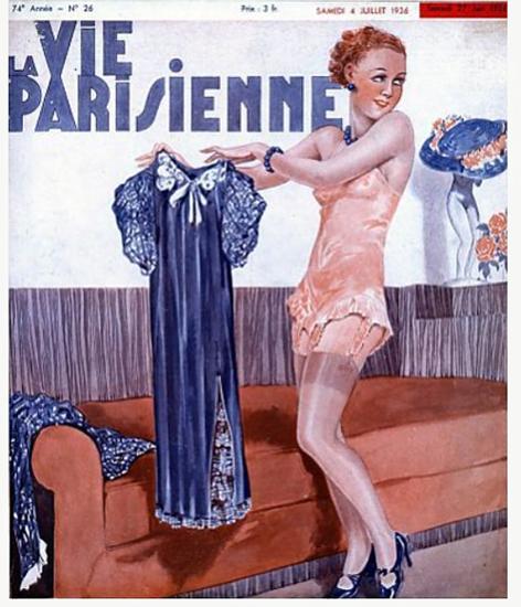 La Vie Parisienne 1936 Dynamisme Sex Appeal | Sex Appeal Vintage Ads and Covers 1891-1970