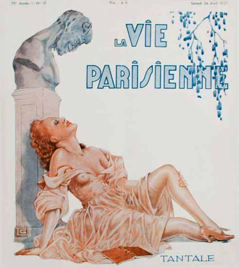 La Vie Parisienne 1937 Tantale Georges Leonnec Sex Appeal | Sex Appeal Vintage Ads and Covers 1891-1970
