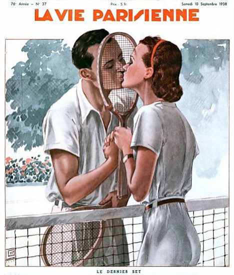 La Vie Parisienne 1938 Le Dernier Set Sex Appeal | Sex Appeal Vintage Ads and Covers 1891-1970