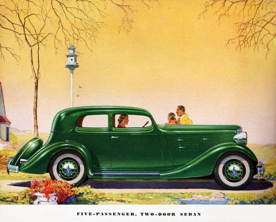 LaFayette Five P Two Door Sedan 1934   Vintage Cars 1891-1970