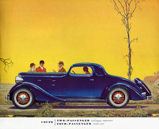 LaFayette Two Door Four P Coupe 1934 | Vintage Cars 1891-1970