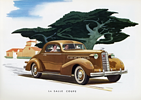 LaSalle Coupe 1936   Vintage Cars 1891-1970