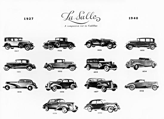 LaSalle Evolution 1927 To 1940 | Vintage Cars 1891-1970