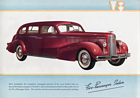 LaSalle Five P Sedan 1938 Particularly Striking | Vintage Cars 1891-1970