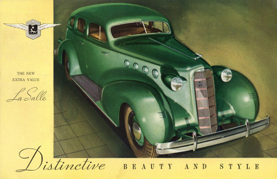 LaSalle Touring Sedan 1935 Beauty And Style | Vintage Cars 1891-1970