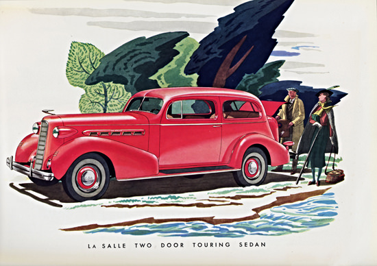 LaSalle Two Door Touring Sedan 1936 | Vintage Cars 1891-1970