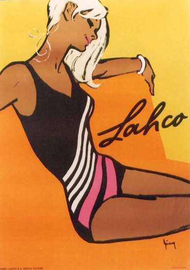 Lahco Switzerland Swim Suits 1960s | Sex Appeal Vintage Ads and Covers 1891-1970