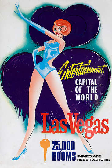 Las Vegas Entertainment World Capital 1960s | Sex Appeal Vintage Ads and Covers 1891-1970