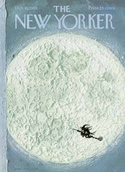 Laura Jean Allen The New Yorker 1965_10_30 Copyright | The New Yorker Graphic Art Covers 1946-1970