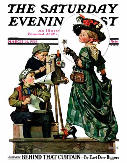Lawrence Toney Saturday Evening Post The Shooting 1928_03_31 | The Saturday Evening Post Graphic Art Covers 1892-1930