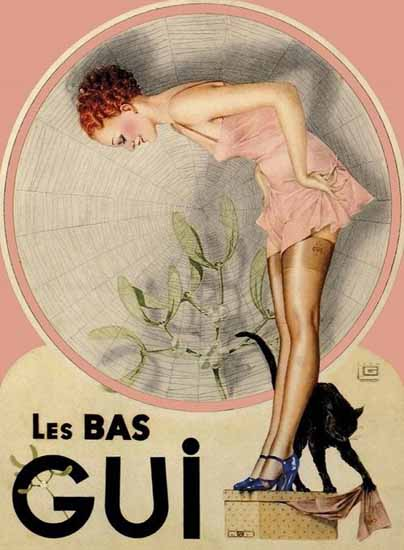 Le Bas Gui Stockings Ad Sex Appeal   Sex Appeal Vintage Ads and Covers 1891-1970