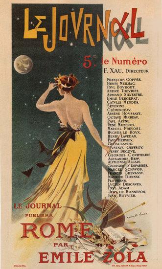 Le Journal Rome Par Emile Zola France | Sex Appeal Vintage Ads and Covers 1891-1970