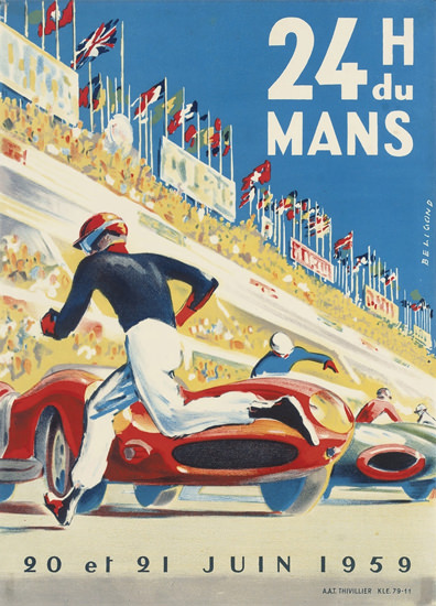 Le Mans 1959 24 Hours | Sex Appeal Vintage Ads and Covers 1891-1970