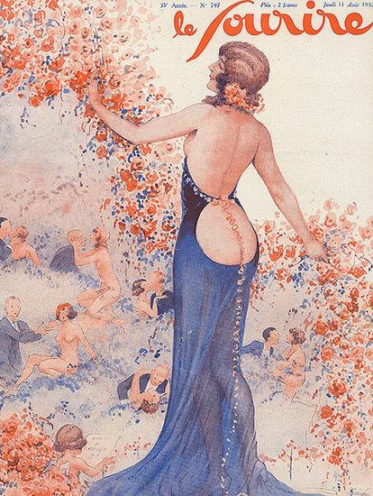 Le Sourire Magazine 1933 Les Amoureux | Sex Appeal Vintage Ads and Covers 1891-1970