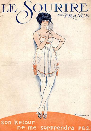 Le Sourire de France Son Retour | Sex Appeal Vintage Ads and Covers 1891-1970