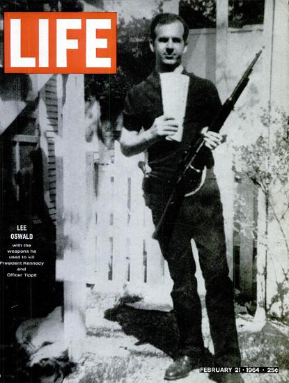 Lee Oswald is he the JFK Murder 21 Feb 1964 Copyright Life Magazine | Life Magazine BW Photo Covers 1936-1970