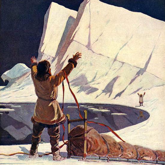 Lejaren Hiller Life Humor Magazine 1909-10-07 Copyright crop | Best of Vintage Cover Art 1900-1970