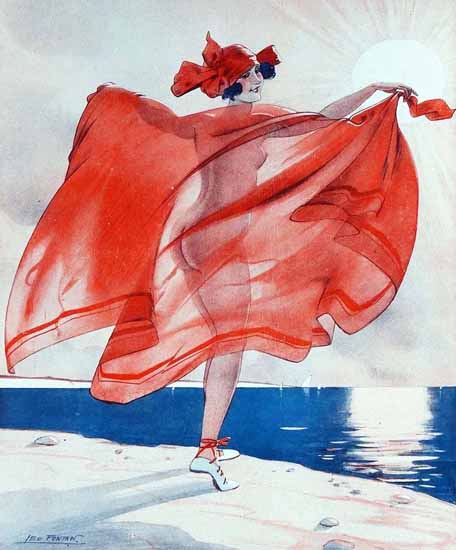 Leo Fontan La Vie Parisienne 1923 Contre-Jour page Sex Appeal   Sex Appeal Vintage Ads and Covers 1891-1970