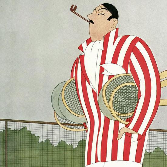Leonard Dove The New Yorker 1928_06_23 Copyright crop | Best of Vintage Cover Art 1900-1970