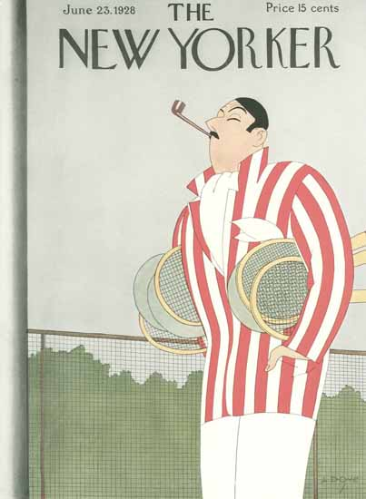 Leonard Dove The New Yorker 1928_06_23 Copyright | The New Yorker Graphic Art Covers 1925-1945