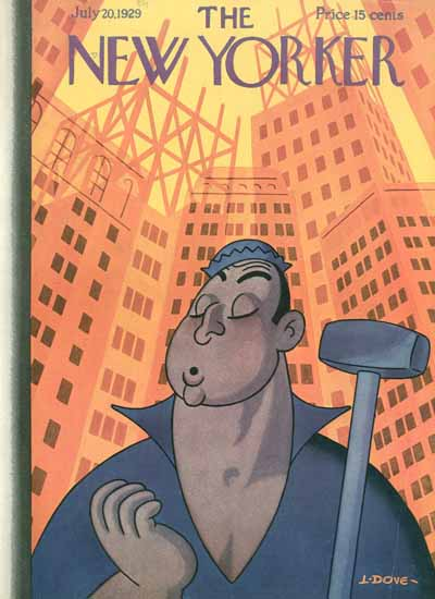 Leonard Dove The New Yorker 1929_07_20 Copyright | The New Yorker Graphic Art Covers 1925-1945