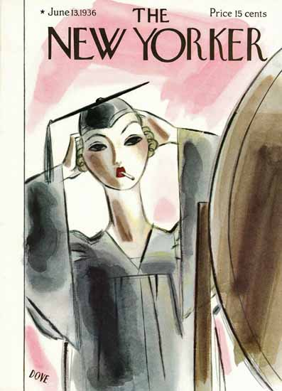 Leonard Dove The New Yorker 1936_06_13 Copyright | The New Yorker Graphic Art Covers 1925-1945