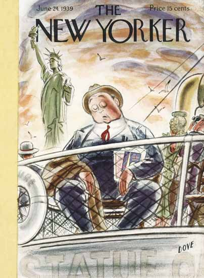 Leonard Dove The New Yorker 1939_06_24 Copyright | The New Yorker Graphic Art Covers 1925-1945