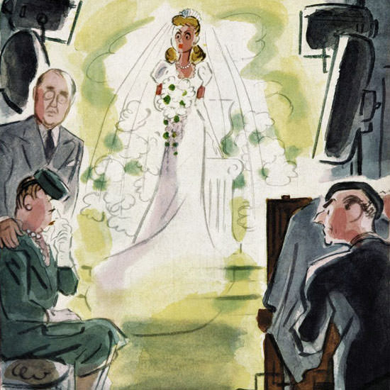 Leonard Dove The New Yorker 1947_09_27 Copyright crop | Best of Vintage Cover Art 1900-1970