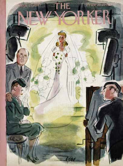 Leonard Dove The New Yorker 1947_09_27 Copyright | The New Yorker Graphic Art Covers 1946-1970