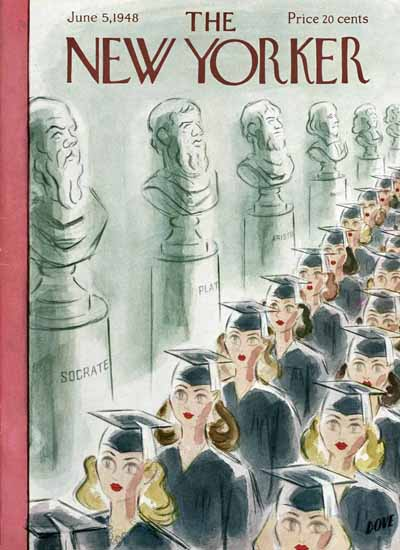Leonard Dove The New Yorker 1948_06_05 Copyright | The New Yorker Graphic Art Covers 1946-1970