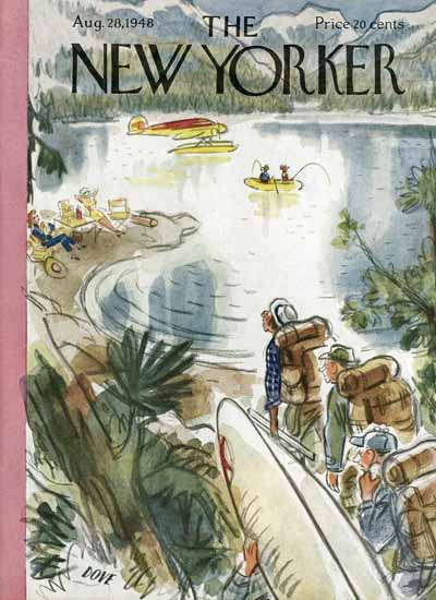 Leonard Dove The New Yorker 1948_08_28 Copyright | The New Yorker Graphic Art Covers 1946-1970