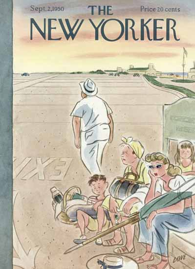 Leonard Dove The New Yorker 1950_09_02 Copyright | The New Yorker Graphic Art Covers 1946-1970