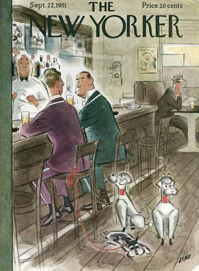 Leonard Dove The New Yorker 1951_09_22 Copyright | The New Yorker Graphic Art Covers 1946-1970